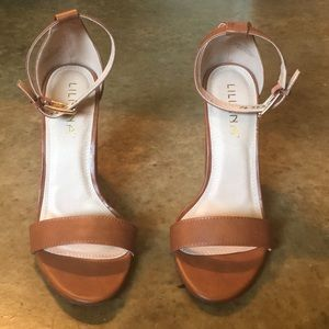 Lilliana brown heels!